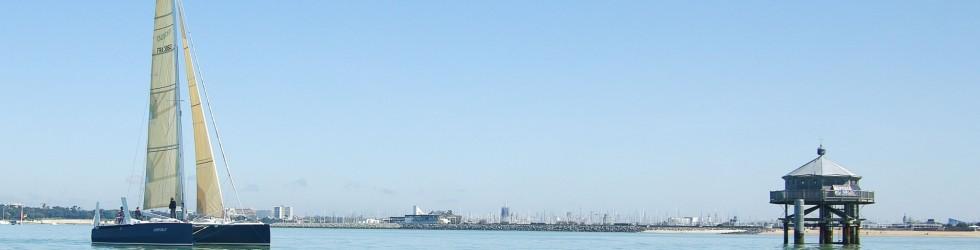 L'oiseau blanc – Sortie en mer à la voile